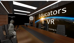 Engage - Meeting with Educators in VR