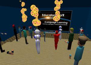 Educators in VR vLanguage Learning