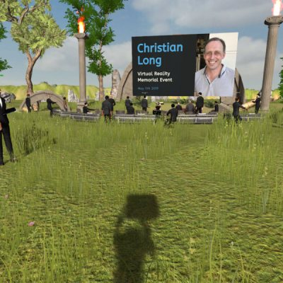 Memorial honoring Chris Long in Engage.