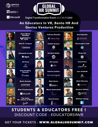 Global HR Summit - Speakers.