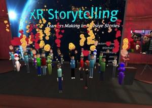 Studnets in VR - XR Storytelling