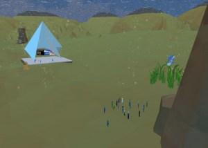 Underwater event space for iLRN 2020.