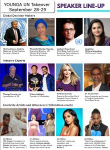 YOUNGA 2020 Speakers.