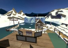 Educators in VR Rental World - Norway Exhibit