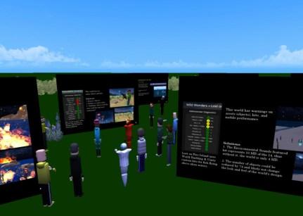 Educators in VR Rental World - EDVR Poster Walking Tour